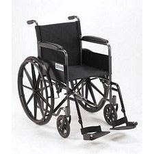 Silver Sport 1 Wheelchair w/ Full Arm & Swing Footrest