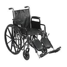 Silver Sport 2 Wheelchair w/Detach. Desk Arm & Elevated Leg