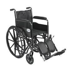 Silver Sport 2 Wheelchair w/ Elevated Foot Rest (18 in.)