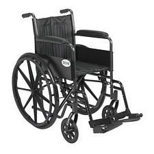 Silver Sport 2 Wheelchair w/ Swing Foot Rest (18 in.)