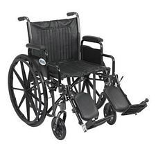 Silver Sport 2 Wheelchair w/Detach. Desk Arm & Elev. Leg