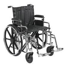 Sentra Wheelchair w/Adjust. Desk Arm & Swing Foot (20 in.)