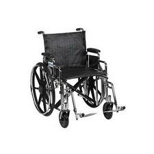 Sentra Wheelchair w/Desk Arms & Swing Footrest (20 in.)