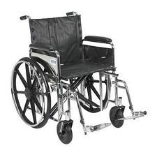 Sentra EC Wheelchair w/Full Arms & Swing Leg Rest (20 in.)
