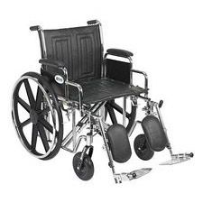 Sentra EC Wheelchair w/Desk Arms & Elev. Leg Rest (20 in.)