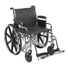 Sentra EC Wheelchair w/Desk Arms & Swing Foot Rest (20 in.)