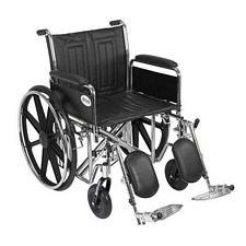 Sentra EC Wheelchair w/Full Arms & Elev. Leg Rest (20 in.)