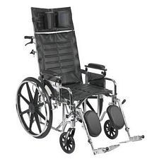 Sentra Recline Wheelchair w/Detach. Desk Arms (20 in.)