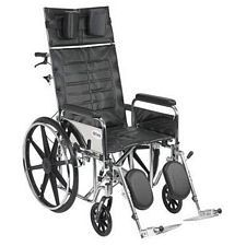 Sentra Recline Wheelchair w/Detach. Full Arms 20 in.)