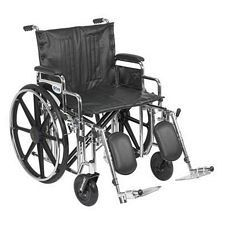 Sentra Wheelchair w/Desk Arms & Elev. Leg Rest (22 in.)