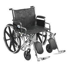 Sentra EC Wheelchair w/Desk Arms & Elev. Leg Rest (22 in.)