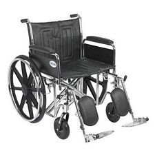 Sentra EC Wheelchair w/Full Arms & Elev. Leg Rest (22 in.)