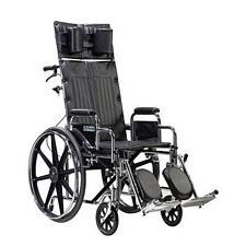 Sentra Recline Wheelchair w/Detach. Desk Arms (22 in.)