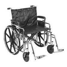 Sentra Wheelchair w/Adjust. Desk Arm & Swing Foot (24 in.)