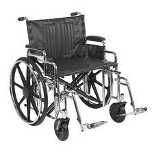 Sentra Wheelchair w/Desk Arms & Swing Foot Rest (24 in.)