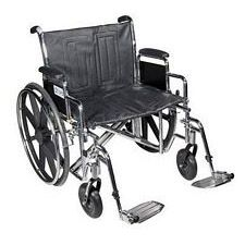 Sentra EC Wheelchair w/Desk Arms & Swing Foot Rest (24 in.)