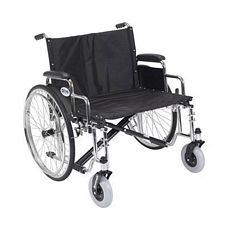 Sentra EC X-Wide Wheelchair w/Detach. Desk Arms (26 in.)