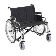 Sentra EC X-Wide Wheelchair w/Detach. Desk Arms (28 in.)
