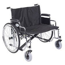 Sentra EC X-Wide Wheelchair w/Detach. Desk Arms (30 in.)