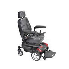 Titan Front Wheel Power Wheelchair (18 in. Vented Capt Seat)