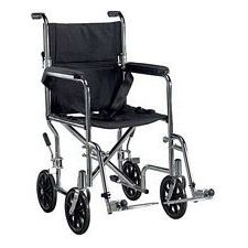 Go Cart Transport Chair w/ Swingaway Footrest