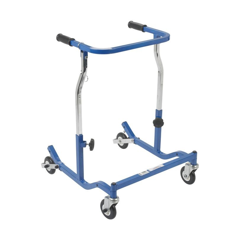 Adult Blue Anterior Safety Roller Walkers And Mobility