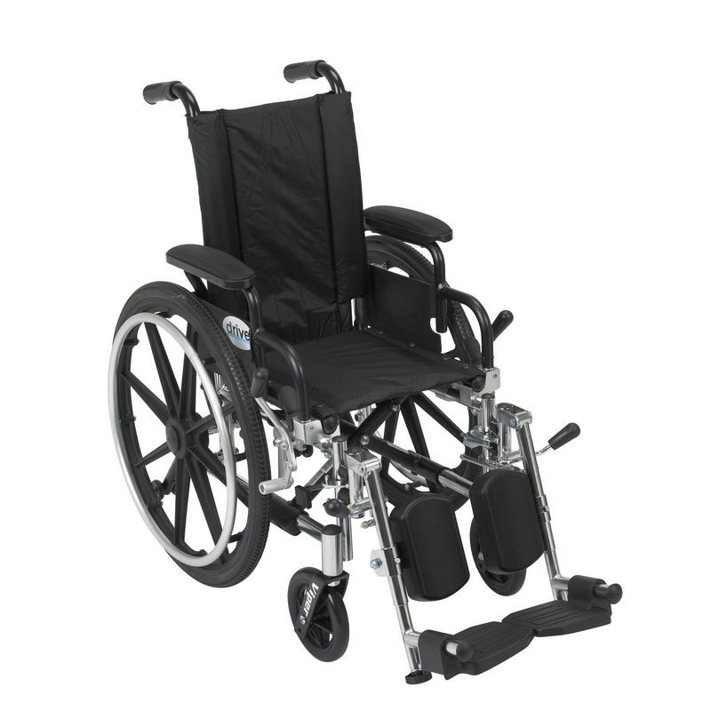 Viper 12 In Wheelchair W Flip Back Desk Arm Amp Elev Leg